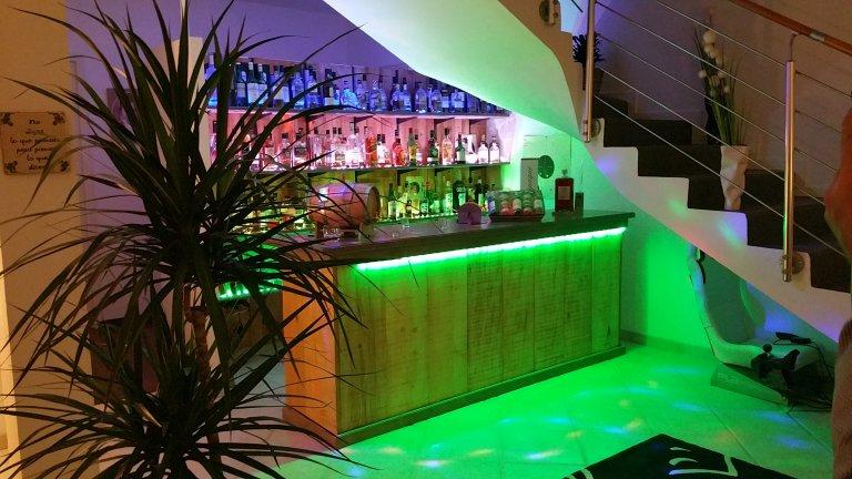Bar avec plus de 250 whisky - Domaine des Rigauds