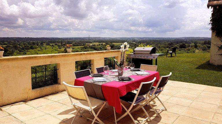 Terrasse - Domaine des Rigauds