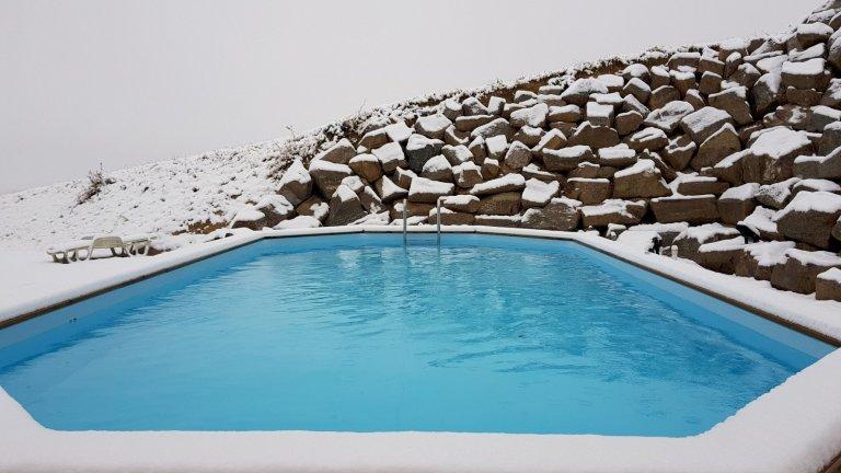 bain chaud - Domaine des Rigauds